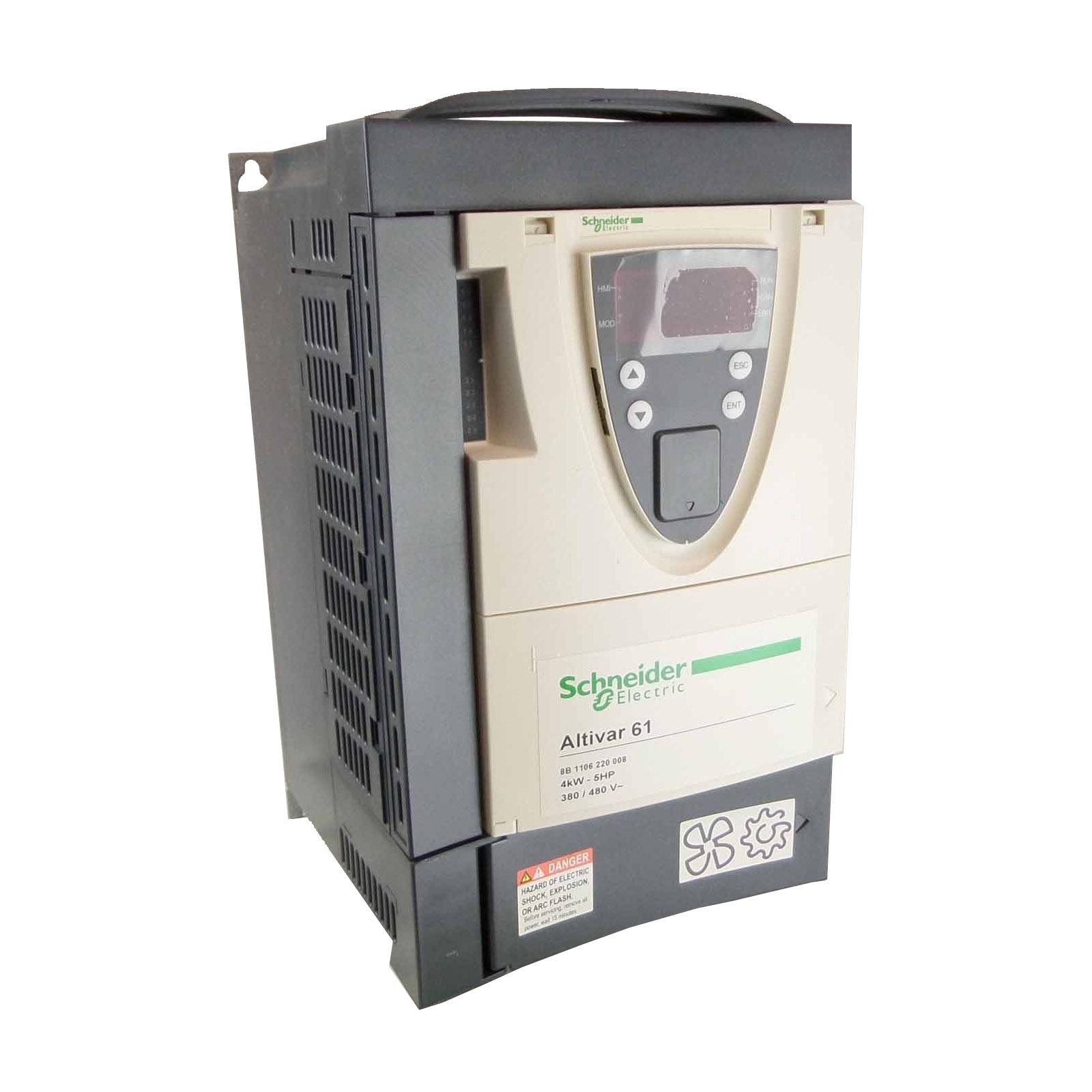 SCHNEIDER-Altivar 61 5CV 380V 7.6A